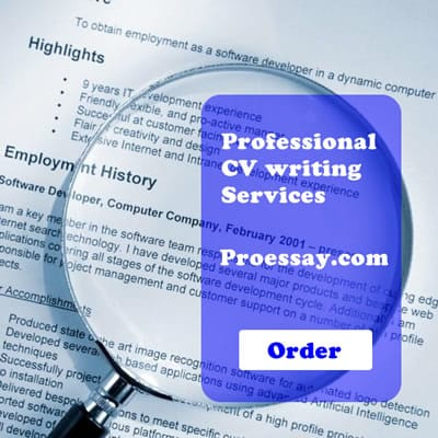 cv writing service proessay com
