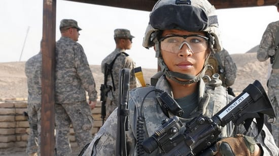 Women in the military essay
